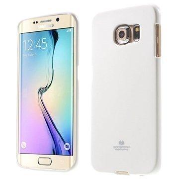 Samsung Galaxy S 6 Edge Mercury Goospery TPU Kotelo Valkoinen