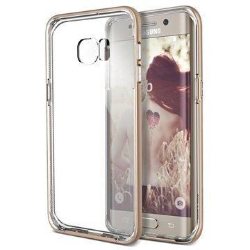 Samsung Galaxy S 6 Edge+ Verus Crystal Bumper Series Kotelo Hohtava Kulta
