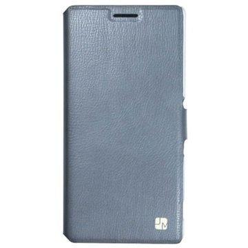 Samsung Galaxy S 6 Just Must Slim Lompakkokotelo Harmaa