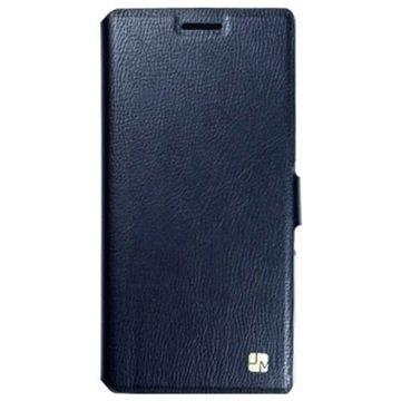 Samsung Galaxy S 6 Just Must Slim Lompakkokotelo Musta