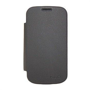 Samsung Galaxy S Duos S7562 Kalaideng Bei Läppäkotelo Musta
