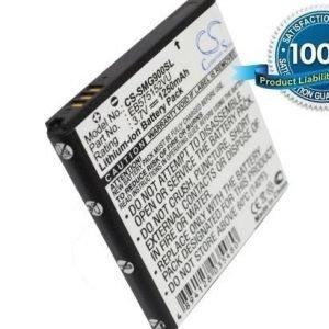 Samsung Galaxy S GT-i9000 GT-I9008 GT-I9088 SCH-i500 SCH-I909 SGH-i897 SGH-T959 SHW-M110S SPH-D700 Vibrant akku 1250 mAh