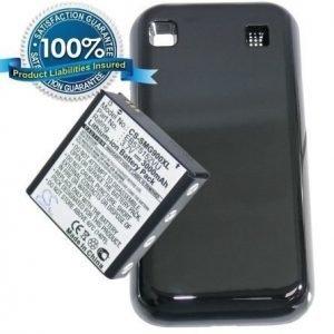 Samsung Galaxy S GT-i9000 Galaxy S PLUS GT-i9001 tehoakku laajennetulla takakannella 3000 mAh