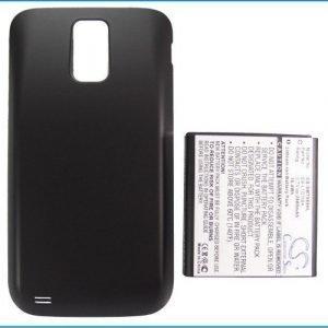 Samsung Galaxy S Hercules SGH-T989 yhteensopiva akku laajennetulla takakannella 2800 mAh