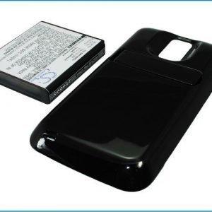 Samsung Galaxy S Hercules tehoakku erillisellä laajennetulla mustalla takakannella 3400 mAh