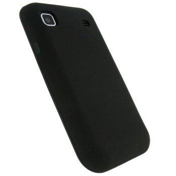 Samsung Galaxy S I9000 iGadgitz TPU-Suojakotelo Musta