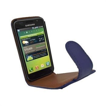 Samsung Galaxy S iGadgitz Leather Case Blue