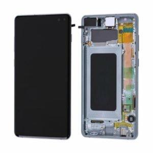 Samsung Galaxy S10+ Näyttö & Runko Prism White
