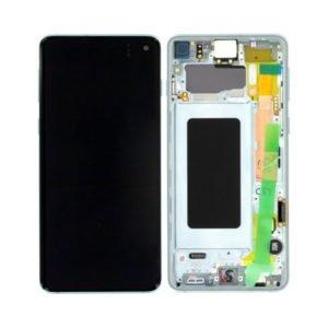 Samsung Galaxy S10 Näyttö & Runko Prism White
