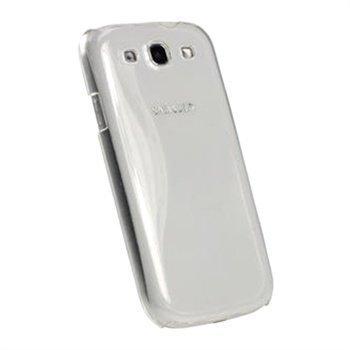 Samsung Galaxy S3 I9300 iGadgitz Hardt Deksel Gjennomsiktig