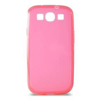 Samsung Galaxy S3 Ksix Foggy TPU-Suojakotelo Pinkki