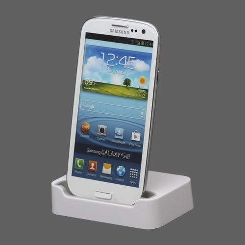 Samsung Galaxy S3 Latausteline Valkoinen