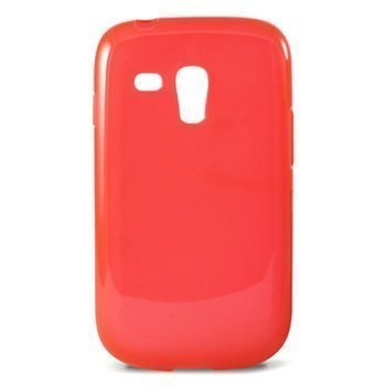 Samsung Galaxy S3 Mini I8190 Ksix TPU Case Punainen