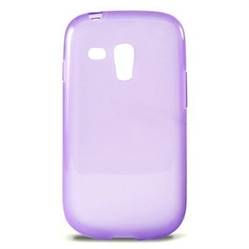Samsung Galaxy S3 Mini I8190 Ksix TPU Case Purppura
