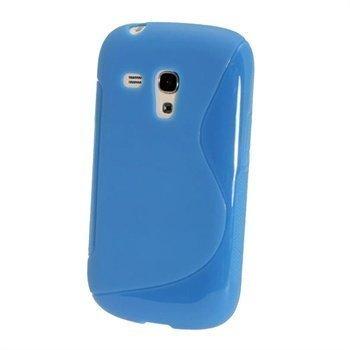 Samsung Galaxy S3 Mini I8190 iGadgitz Kaksivärinen TPU-Suojakotelo Sininen