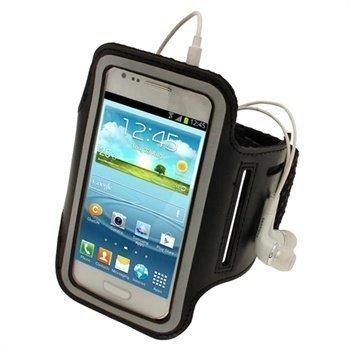 Samsung Galaxy S3 Mini I8190 iGadgitz Neopreeni Käsivarsikotelo Musta