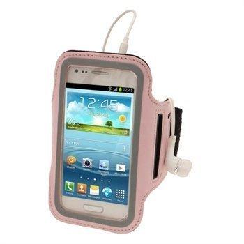 Samsung Galaxy S3 Mini I8190 iGadgitz Neopreeni Käsivarsikotelo Pinkki