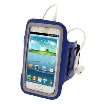 Samsung Galaxy S3 Mini I8190 iGadgitz Neopreeni Käsivarsikotelo Sininen