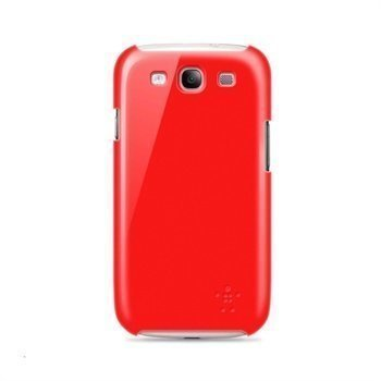 Samsung Galaxy S3 i9300 Belkin Snap Shield Hazard Click-On Suojakuori Punainen