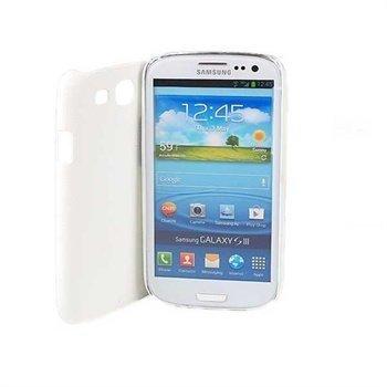 Samsung Galaxy S3 i9300 Jekod Shield Leather Case White