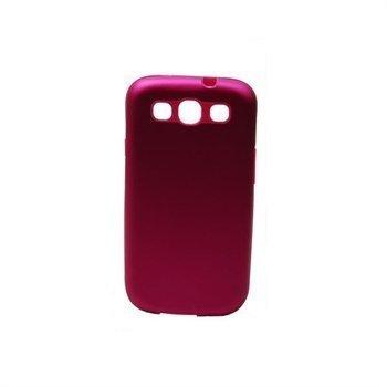 Samsung Galaxy S3 i9300 Konkis Back Cover Dark Pink