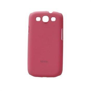Samsung Galaxy S3 i9300 Konkis Rubber Taustakuori Pinkki