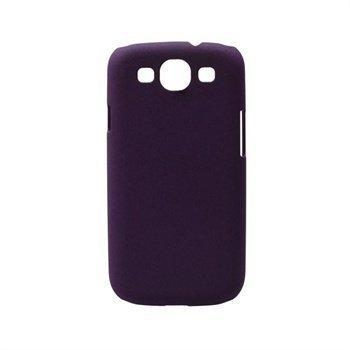 Samsung Galaxy S3 i9300 Konkis Rubber Taustakuori Violetti