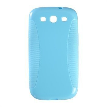 Samsung Galaxy S3 i9300 Peter Jäckel Protector Solid Case Blue