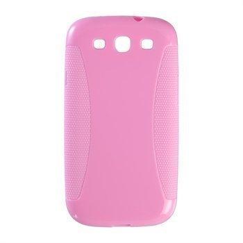 Samsung Galaxy S3 i9300 Peter Jäckel Protector Solid Case Pink