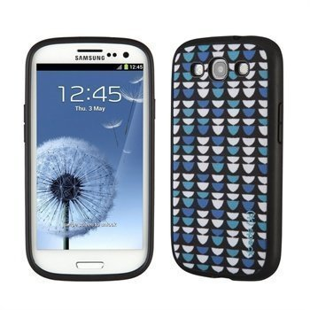 Samsung Galaxy S3 i9300 Speck FabShell Case FishyScales Blue