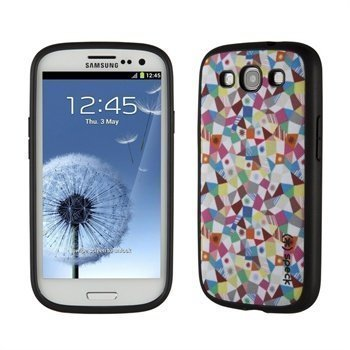 Samsung Galaxy S3 i9300 Speck FabShell Case GeoMazing Spectrum