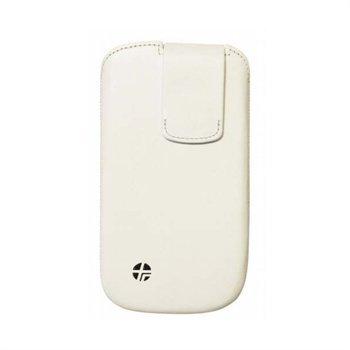Samsung Galaxy S3 i9300 Trexta Lifter Itsestään Avautuva Nahkakotelo Valkoinen