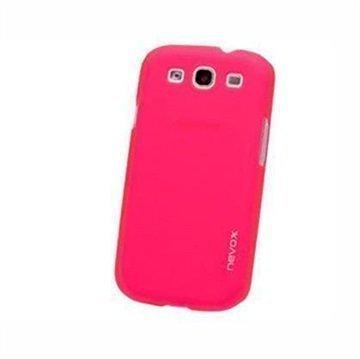 Samsung Galaxy S3 i9300 i9305 Nevox StyleShell Faceplate Pinkki