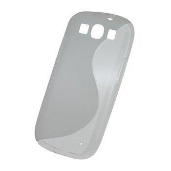 Samsung Galaxy S3 i9300 iGadgitz Dual Tone TPU-Suojakuori Kirkas
