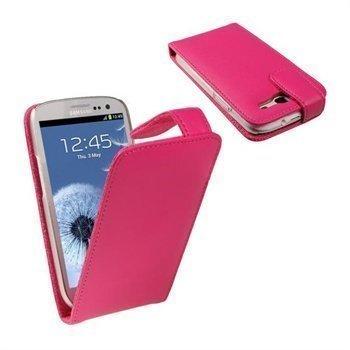 Samsung Galaxy S3 i9300 iGadgitz Nahkakotelo Vaaleanpunainen
