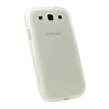Samsung Galaxy S3 i9300 iGadgitz TPU-Suojakuori Kirkas