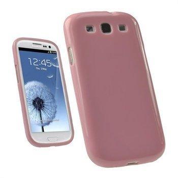 Samsung Galaxy S3 i9300 iGadgitz TPU-Suojakuori Pinkki