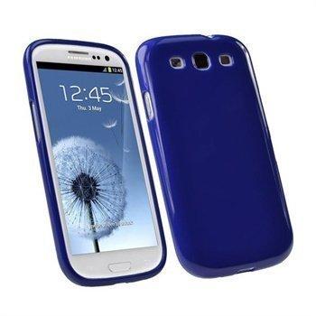 Samsung Galaxy S3 i9300 iGadgitz TPU-Suojakuori Sininen