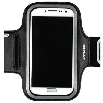 Samsung Galaxy S4 I9500 Anymode Käsivarsikotelo Musta