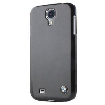 Samsung Galaxy S4 I9500 BMW Kova Suojakuori Metallinen Viimeistely Musta