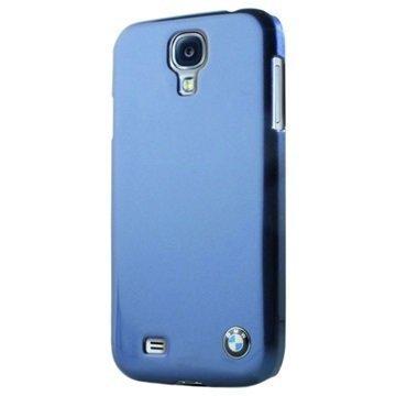 Samsung Galaxy S4 I9500 BMW Kova Suojakuori Metallinen Viimeistely Sininen