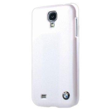Samsung Galaxy S4 I9500 BMW Kova Suojakuori Metallinen Viimeistely Valkoinen