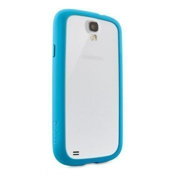 Samsung Galaxy S4 I9500 I9505 Belkin View TPU Case Transparent / Light Blue