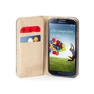 Samsung Galaxy S4 I9500 I9505 Griffin Passport Wallet Leather Case Black
