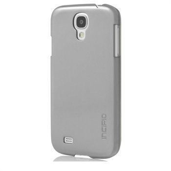 Samsung Galaxy S4 I9500 I9505 Incipio Feather Shine Case Titanium Silver