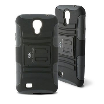 Samsung Galaxy S4 I9500 I9505 Ksix Adventure Case Black