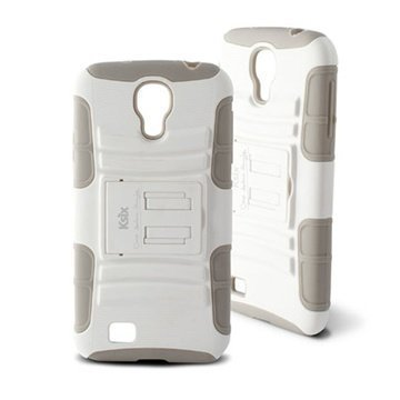 Samsung Galaxy S4 I9500 I9505 Ksix Adventure Case White
