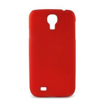 Samsung Galaxy S4 I9500 I9505 Ksix Kuminen Suojakuori Punainen