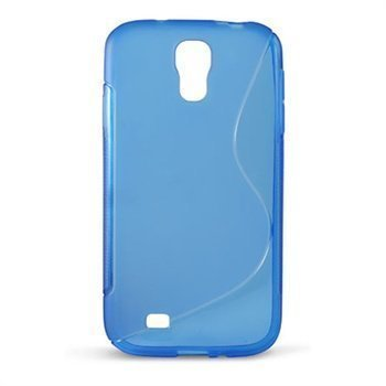 Samsung Galaxy S4 I9500 I9505 Ksix S-Tyyli TPU-Suojakuori Sininen