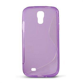 Samsung Galaxy S4 I9500 I9505 Ksix S-Tyyli TPU-Suojakuori Violetti